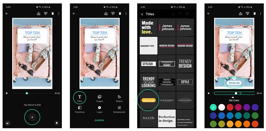 Add Swipe Up to Instagram Story